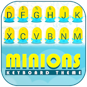 Cute Minions Theme&Emoji Keyboard