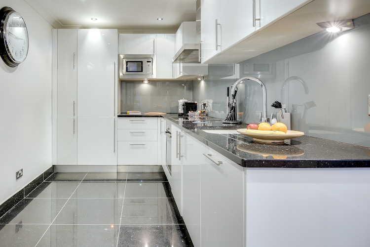 Fully equipped kitchen at Lexham Gardens