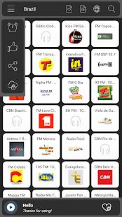 Radio Brazil online - náhled