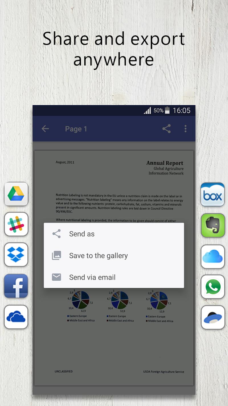 FineScanner Pro - PDF Document Scanner App + OCR Screenshot 4