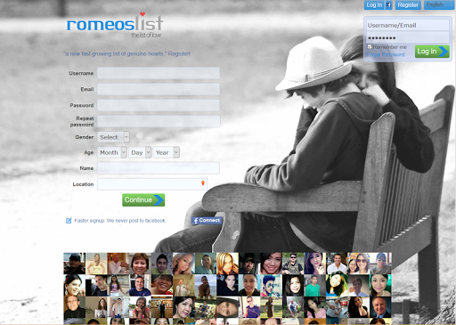 Romeoslist Free Online Dating