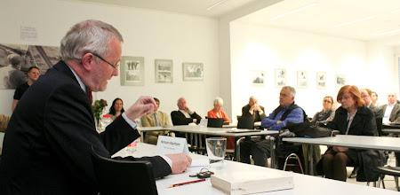 """Photo: Hermann Haarmann - Pre-Conference """"Zum Leben und Wirken von Fritz Eberhard"""" - 57. Jahrestagung der Deutschen Gesellschaft für Publizistik- und Kommunikationswissenschaft vom 16. bis 18. Mai 2012 in Berlin - Mediapolis: Kommunikation zwischen Boulevard und Parlament"""