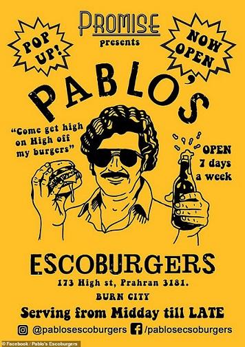 """""""Pablo's Escoburgers"""", Restoran Burger yang Disanyilir Bikin Ketagihan?"""