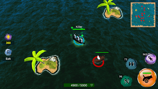Battle of Sea: Pirate Fight- screenshot thumbnail