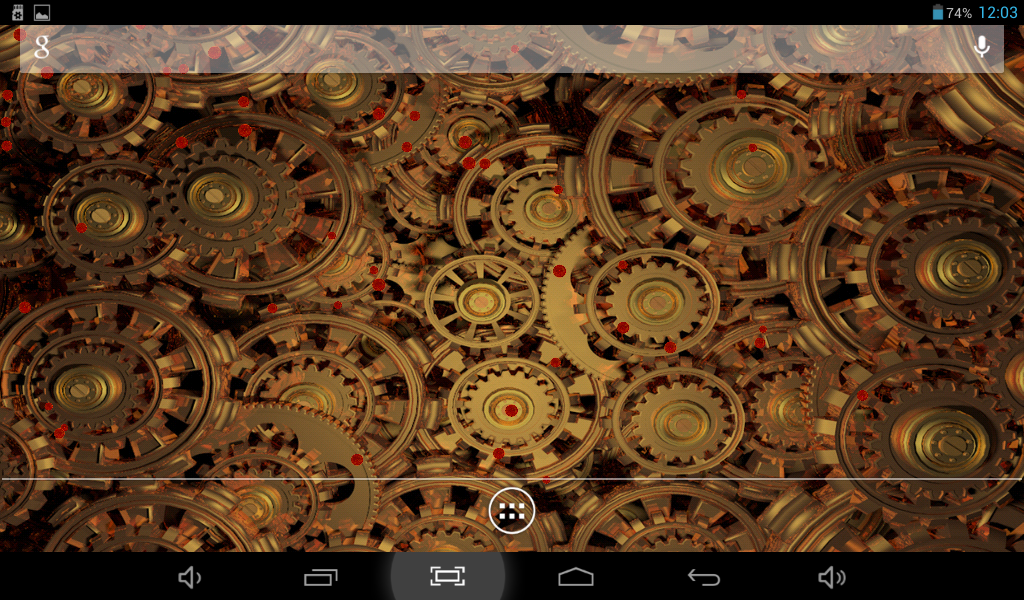 Steampunk gears live wallpaper android apps on google play for Steampunk wallpaper home