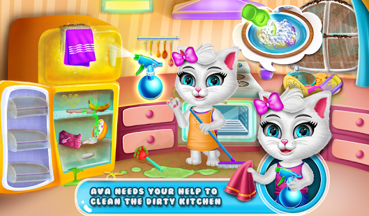 Ava's Kitty Pet Daycare Game Part1 Screenshot