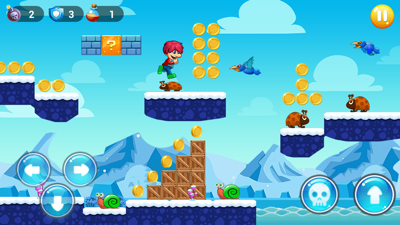 Super boy - Super World - adventure run- screenshot
