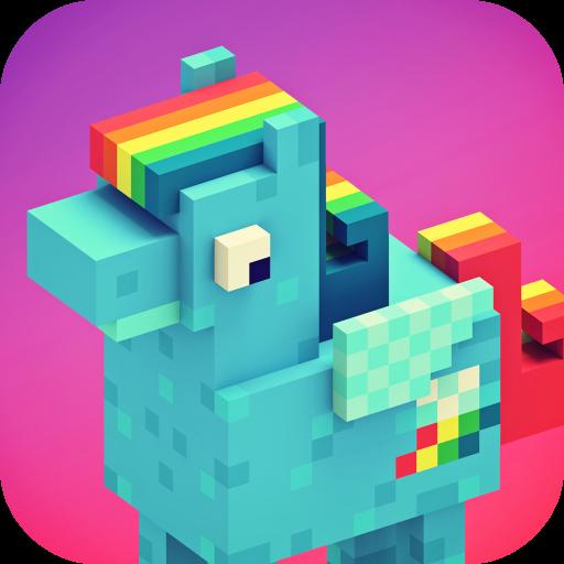 여자를위한 게임 - 픽셀의 세계 : 작은 조랑말 공예 模擬 App LOGO-硬是要APP