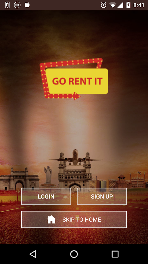 GO RENT IT- screenshot