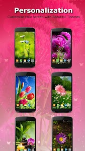 Live Wallpaper - Flowers screenshot 4