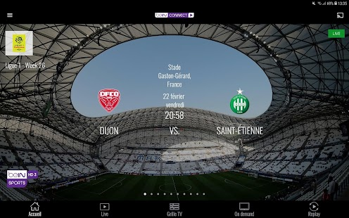 beIN CONNECT Capture d'écran