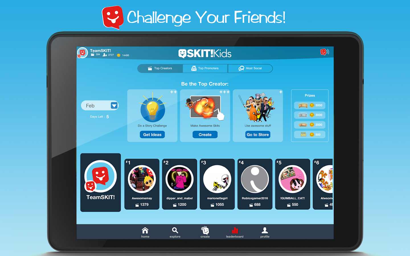 SKIT! Kids - Video Maker- screenshot