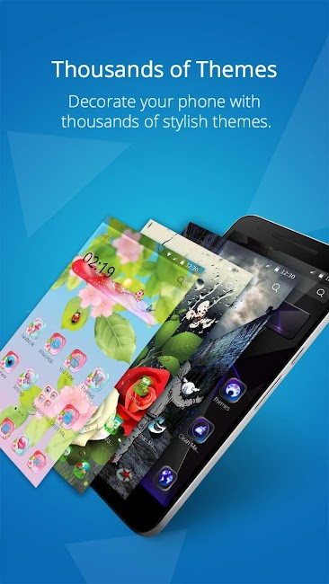 #1. CM Launcher 3D - Theme, Boost (Android)