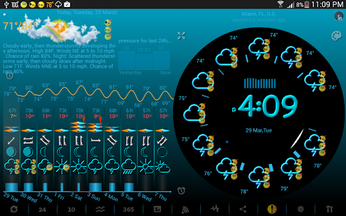 eWeather HD with Weather Radar- screenshot thumbnail