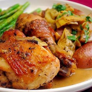 Chicken Vesuvio.