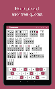 Cryptogram Word Puzzles- screenshot thumbnail