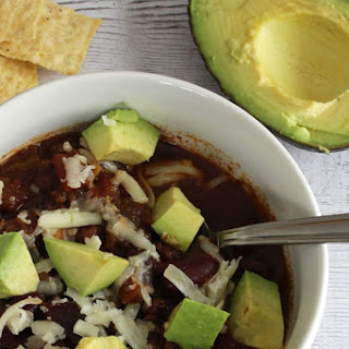 Slow Cooker Turkey Chili with Avocado