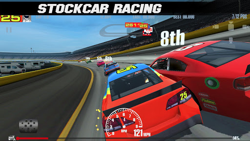 Télécharger Stock Car Racing APK MOD (Astuce) screenshots 1