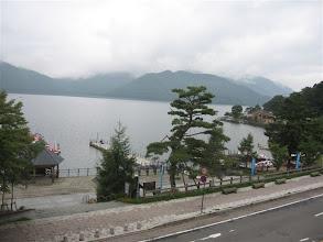 Photo: pohled z okna na jezero Ćúzendži