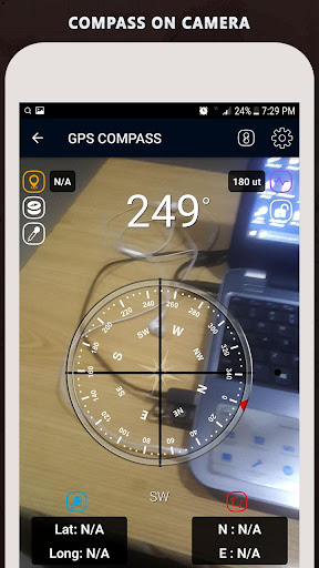 Gyro Compass App for Android Pro & GPS Speedometer screenshot 8