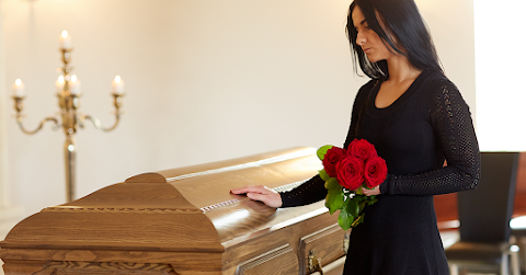 Asset depicting a funeral and death