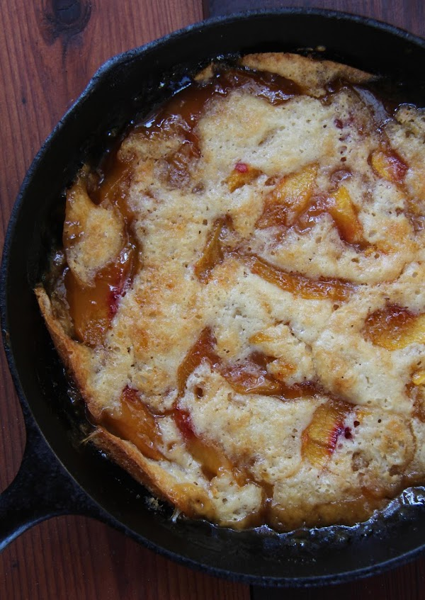 Texas Peach Cobbler Recipe