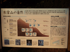 本宮山の自然