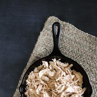 Easy Shredded Chicken.