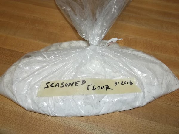 Label and store as for flour.  Use for coating for fried foods and for gravy.