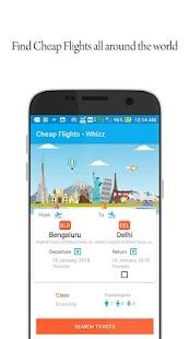 Cheap flights - Whizz - náhled