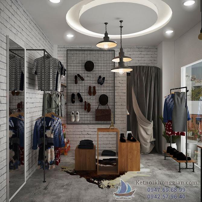 thiết kế shop thời trang hiện đại 30