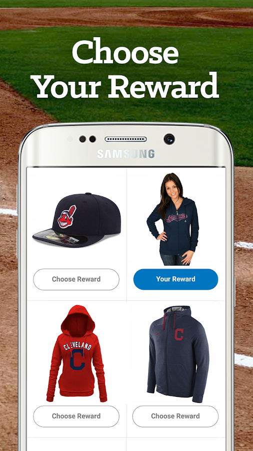 Cleveland Baseball Rewards- screenshot