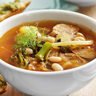 Sausage and White Bean Soup