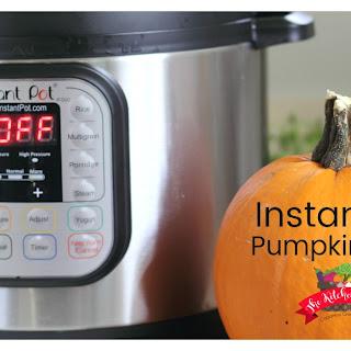 Instant Pot Pumpkin Puree.