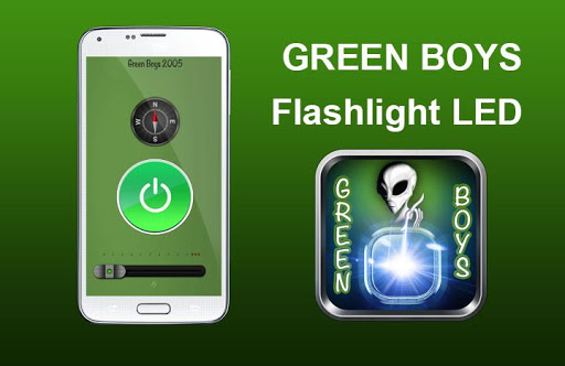 GREEN BOYS Flashlight LED