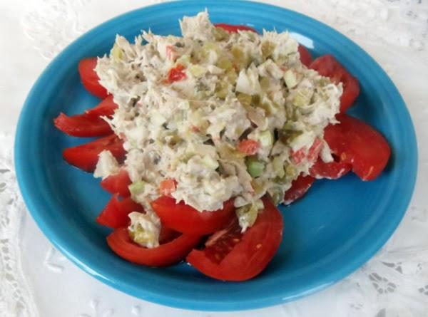 Outer Banks Fresh Tuna Salad Recipe