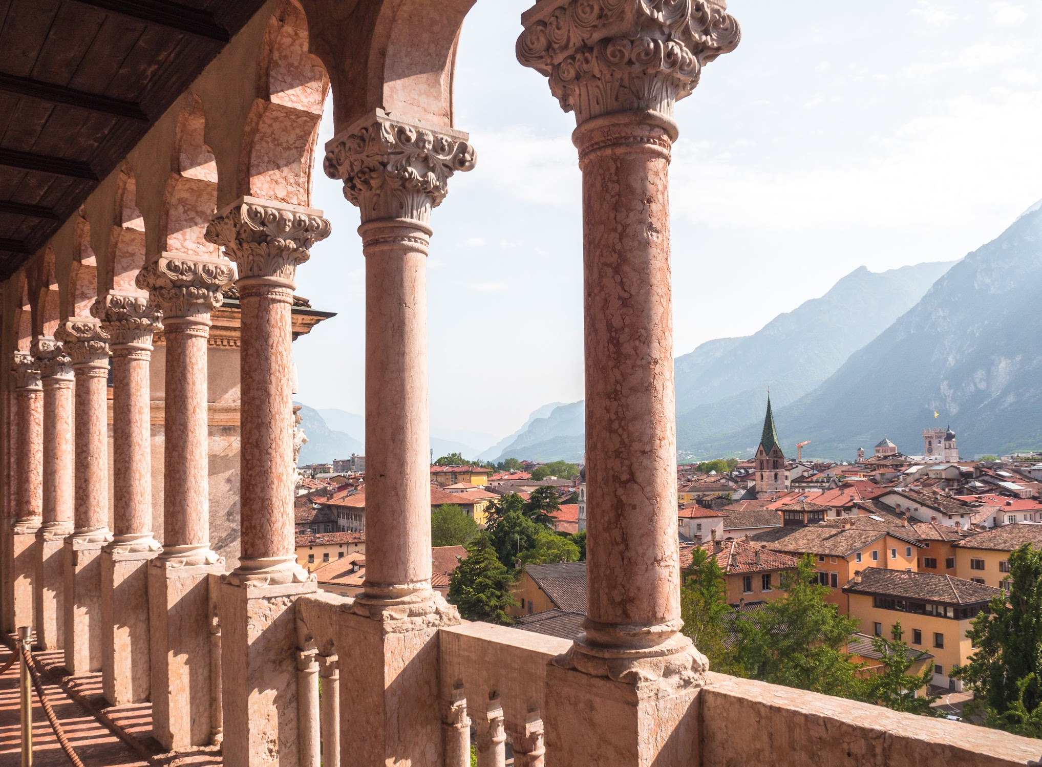 The town of Trento.