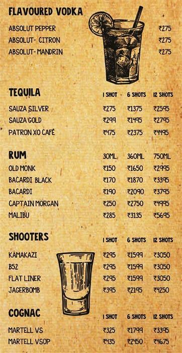 Prankster menu 4