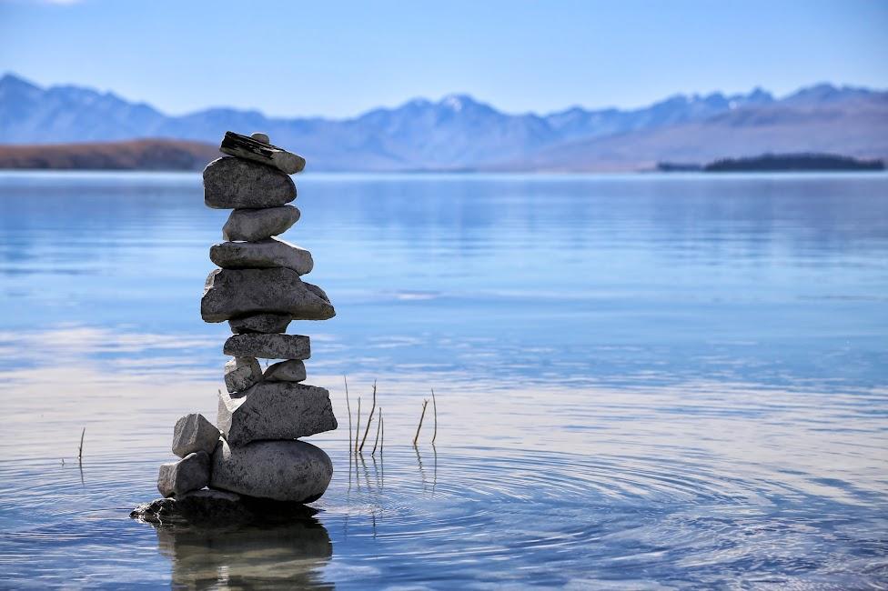 Jezioro Tekapo - Nowa Zelandia