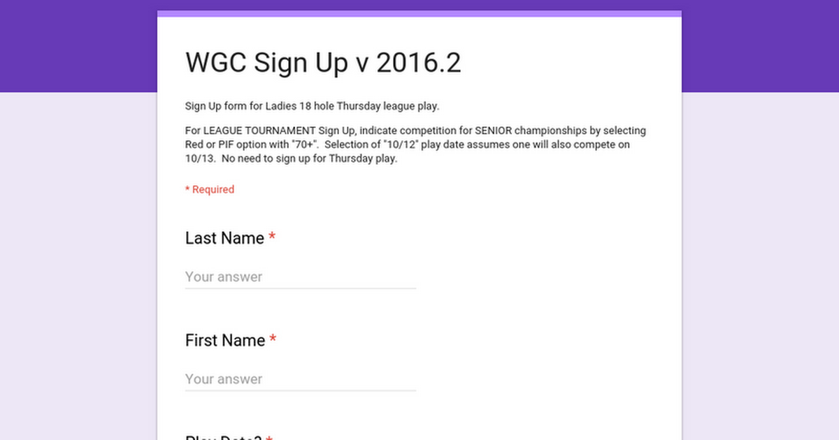 Google Docs Sign Up Form - Google docs sign up