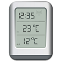 Classic thermometer (free) icon