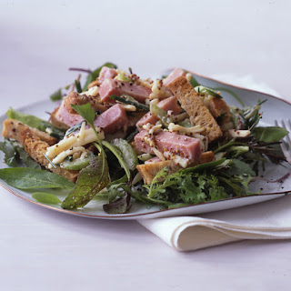 Ham and Cheese on Rye Bread Salad.