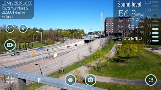 SmarterNoise – video sound meter recorder camera App Download For Android 1