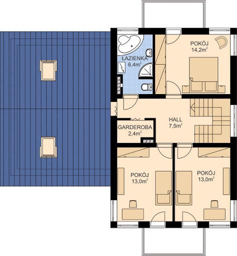 APS 218 - Rzut piętra