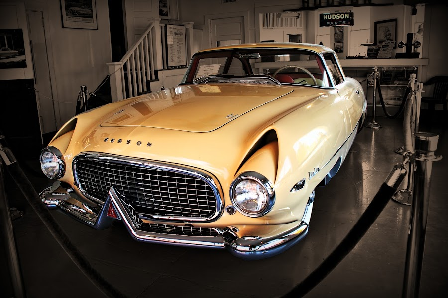 Showroom by JEFFREY LORBER - Transportation Automobiles ( jeffrey lorber, rust 'n chrome, vintage car, classic car, italian, old car, lorberphoto, hudson, italy )