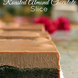 No Bake Chocolate Almond Slice