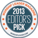 2013 Editors Pick Badge