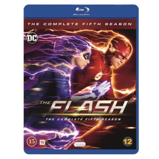 The Flash - Season 5 (Blu-ray) (Nordic)