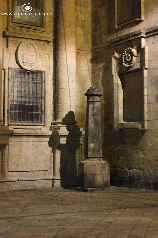 Sombra del Peregrino en Santiago de Compostela