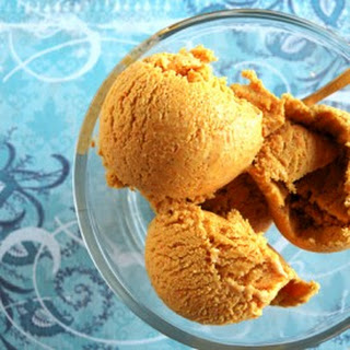 Carrot and Ginger Ice Cream